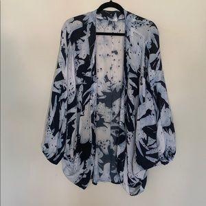 Anthropologie kimono wrap